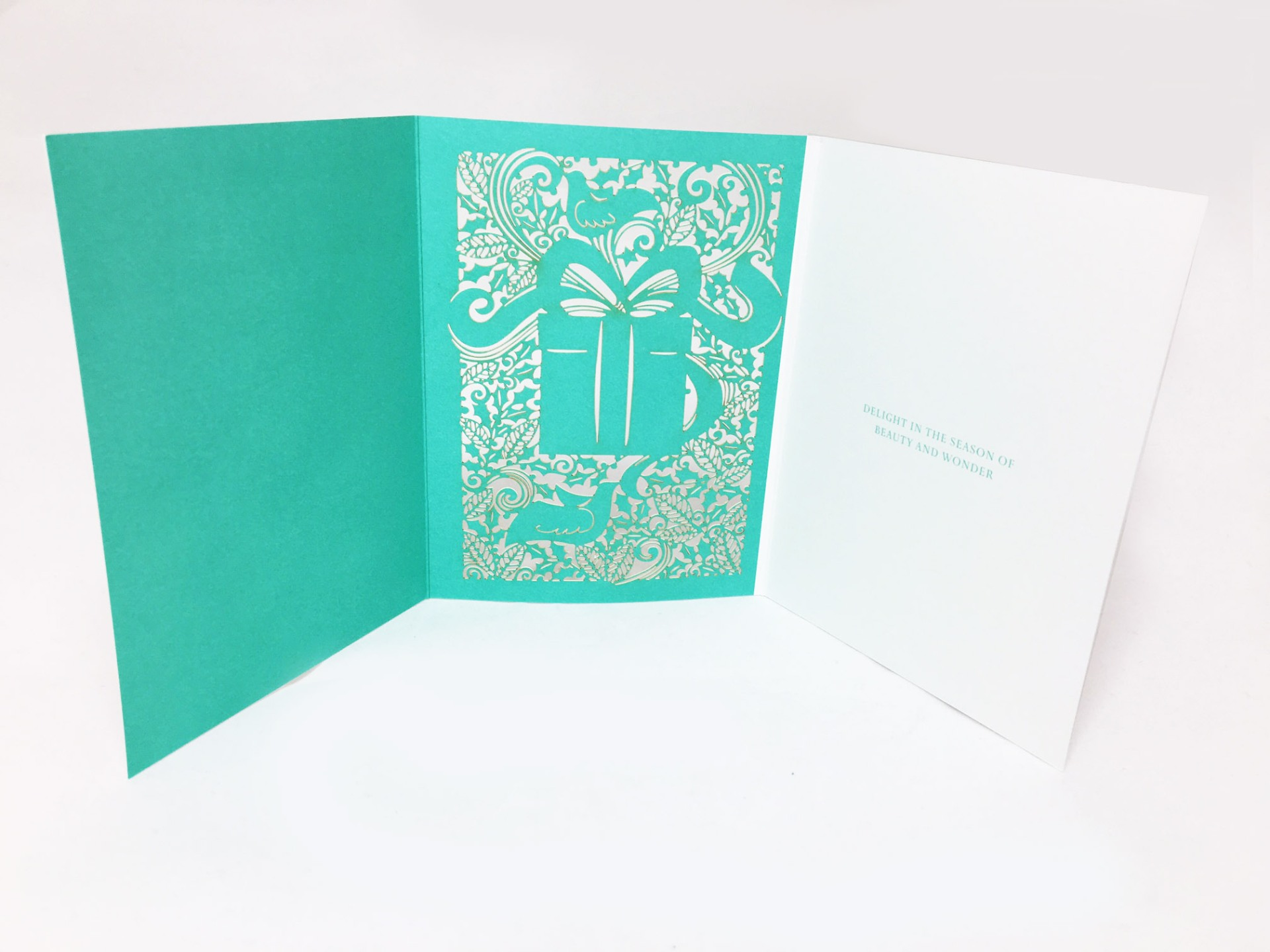 How To Wow With A Simple Laser Cut Greeting Card Beyond The Fold